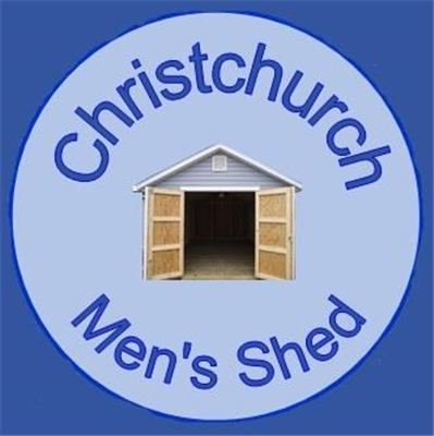 Christchurch Men's Shed Logo